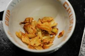 Sautee Garlic